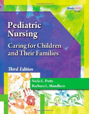 Portada del libro Pediatric Nursing: Caring for Children and Their Families