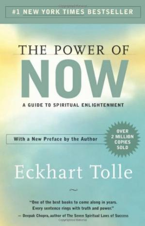 Sampul buku The Power of Now: A Guide to Spiritual Enlightenment