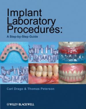 Portada del libro Implant Laboratory Procedures: A Step-by-Step Guide