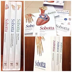 Book cover Sobotta Atlas of Human Anatomy Volume 1-2-3