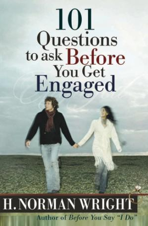 Book cover 101 Questions to Ask Before You Get Engaged