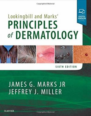 Обложка книги Lookingbill and Marks' Principles of Dermatology