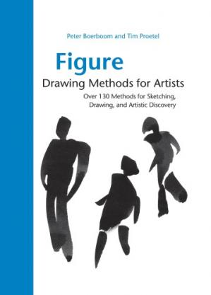 Book cover Figure Drawing Methods for Artists: Over 130 Methods for Sketching, Drawing, and Artistic Discovery