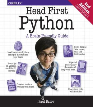 Обложка книги Head First Python  A Brain-Friendly Guide