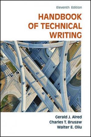 Book cover The Handbook of Technical Writing