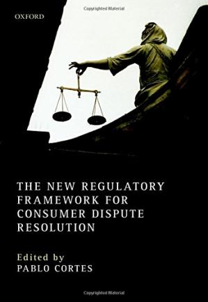 Εξώφυλλο βιβλίου The new regulatory framework for consumer dispute resolution