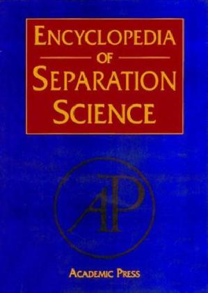 د کتاب پوښ Encyclopedia of separation science