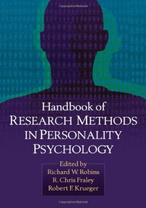 Book cover Handbook of Research Methods in Personality Psychology