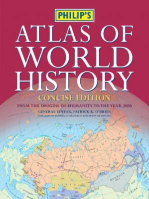 Book cover Philip's atlas of world history (concise edition)