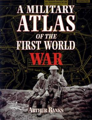 Book cover A Military Atlas of the First World War