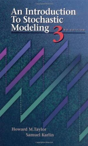 Book cover An Introduction to Stochastic Modeling, Third Edition