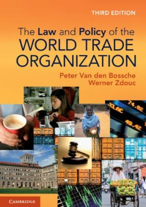 Buchdeckel The Law and Policy of the World Trade Organization: Text, Cases and Materials