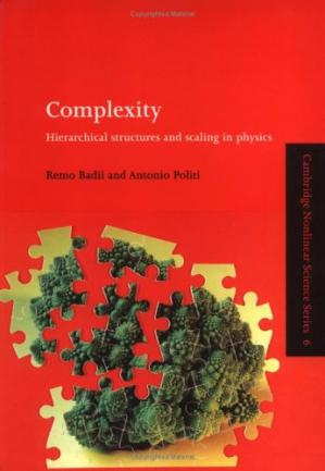 Εξώφυλλο βιβλίου Complexity: Hierarchical Structures and Scaling in Physics (Cambridge Nonlinear Science Series)