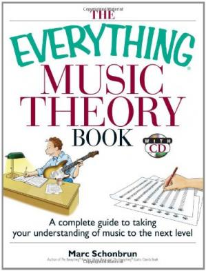 A capa do livro The Everything Music Theory Book: A Complete Guide to Taking Your Understanding of Music to the Next Level