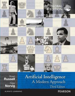 Book cover Artificial Intelligence: A Modern Approach, 3rd Edition