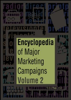 Couverture du livre Encyclopedia of Major Marketing Campaigns