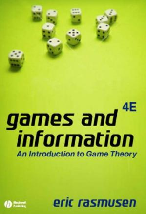 Book cover Games and Information