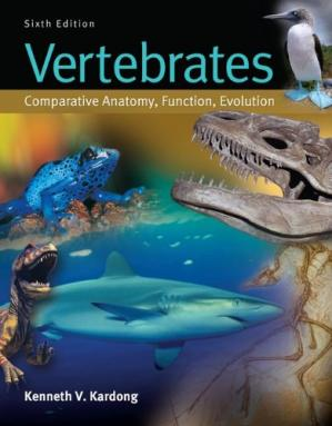 Copertina Vertebrates: Comparative Anatomy, Function, Evolution - 6e