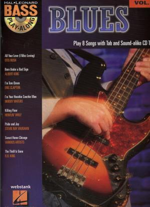 Book cover Bass Play-Along - Vol.9 - Blues