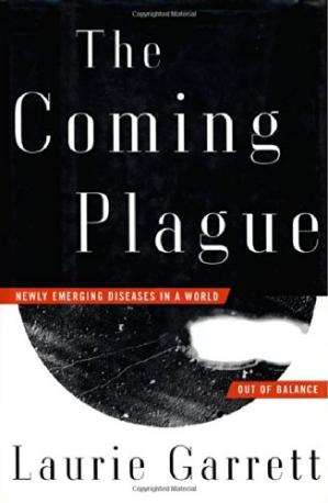 Book cover The Coming Plague: Newly Emerging Diseases in a World Out of Balance