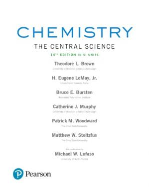 Buchdeckel Chemistry. The Central Science in SI Units, global edition