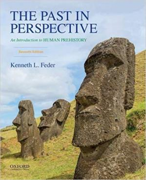 Book cover The Past in Perspective: An Introduction to Human Prehistory