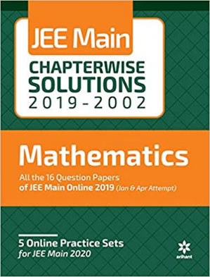 Kitap kapağı Arihant Maths JEE Main Chapterwise Solutions 2019-2002 Solved Papers