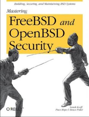 Portada del libro Mastering FreeBSD and OpenBSD Security