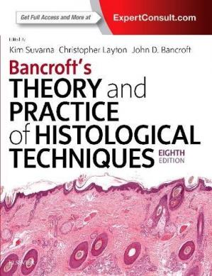 Sampul buku Bancroft's Theory and Practice of Histological Techniques