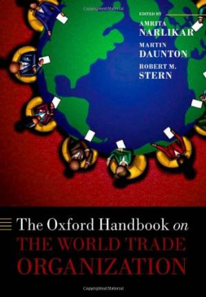 Sampul buku The Oxford Handbook on the World Trade Organization