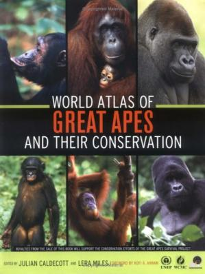 Book cover World Atlas of Great Apes and their Conservation