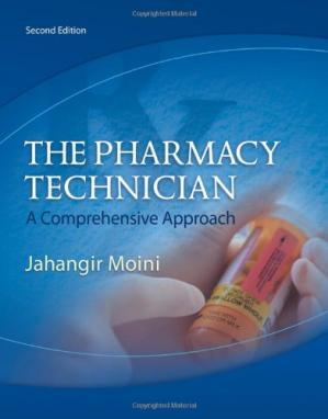 Book cover The Pharmacy Technician: A Comprehensive Approach , Second Edition