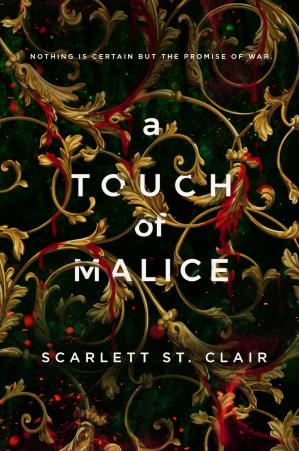 Book cover A Touch of Malice (Hades X Persephone #3)