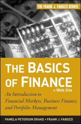 Okładka książki The Basics of Finance: An Introduction to Financial Markets, Business Finance, and Portfolio Management