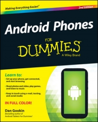 పుస్తక అట్ట Android Phones For Dummies, 2nd Edition