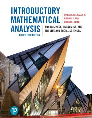 Book cover Introductory Mathematical Analysis
