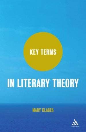 Buchdeckel Key Terms in Literary Theory