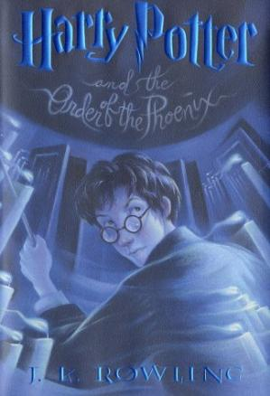 Copertina Harry Potter and the Order of the Phoenix (Book 5)