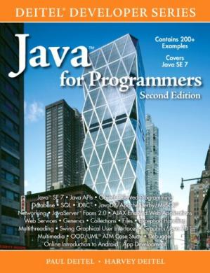 Book cover Java for Programmers, Second Edition