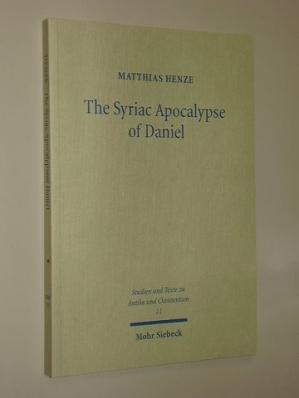 Book cover The Syriac Apocalypse of Daniel: Introduction, Text, and Commentary