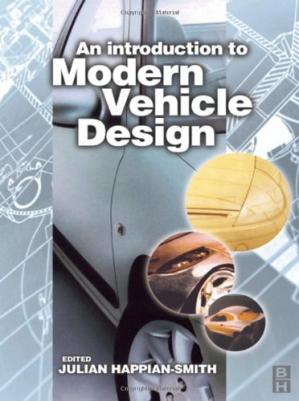Book cover INTRO TO MODERN VEHICLE DESIGN