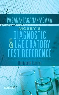 Bìa sách Mosby's Diagnostic and Laboratory Test Reference