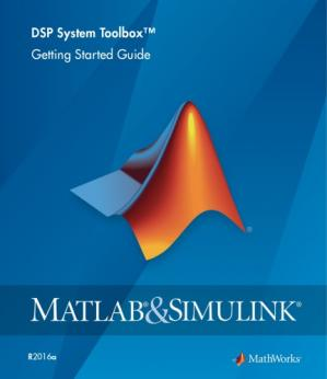 Copertina Matlab DSP System Toolbox User's Guide