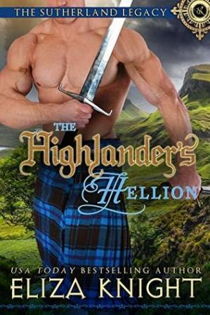 Book cover The Highlander's Hellion
