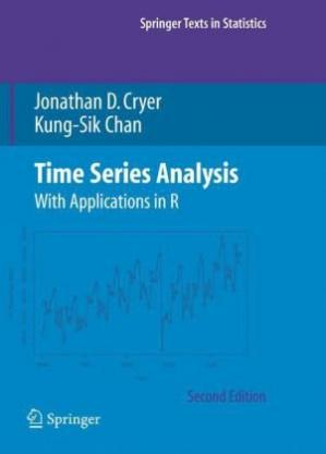 पुस्तक कवर Time Series Analysis: With Applications in R
