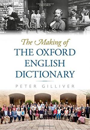 Copertina The making of the Oxford English dictionary